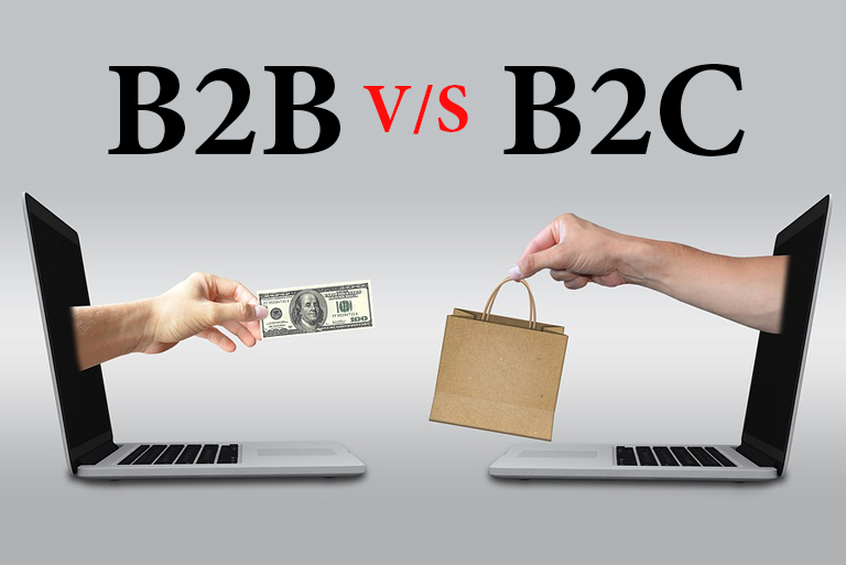 The difference of B2B Marketing to B2c