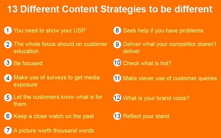 13-Different-Content-Strategies-to-be-different